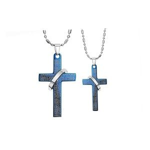 Couples Cross Necklaces